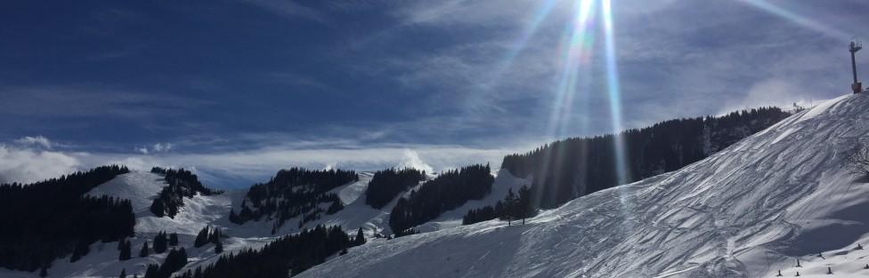 Ajax im Schnee